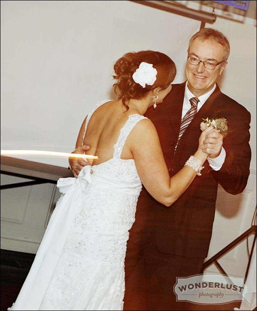 Father Daughter Dance At Our Wedding Reception