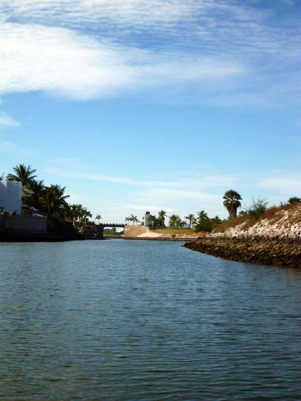 Exploring the estuary behind Marina Mazatlan