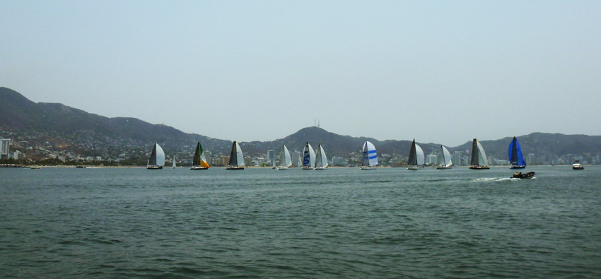 The high-tech raceboats of Acapulco