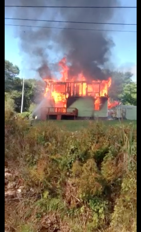 OBIFD Training Fire