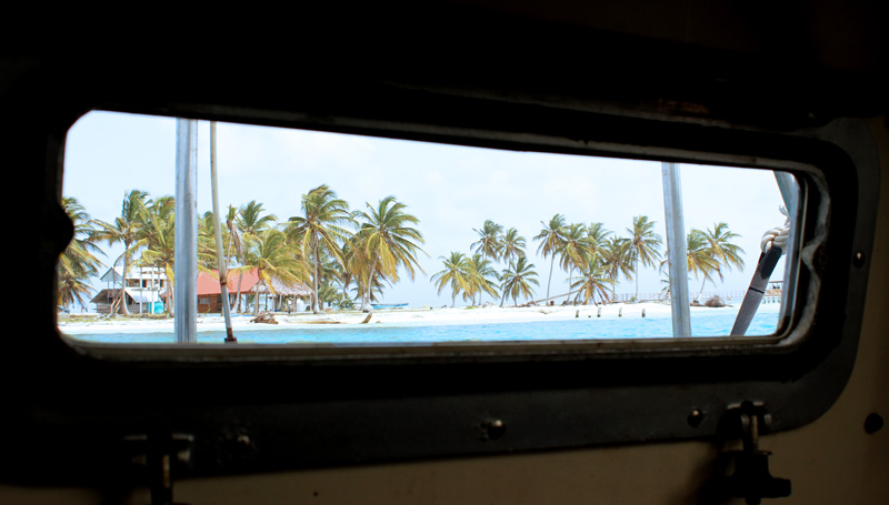 San Blas - Porthole Views