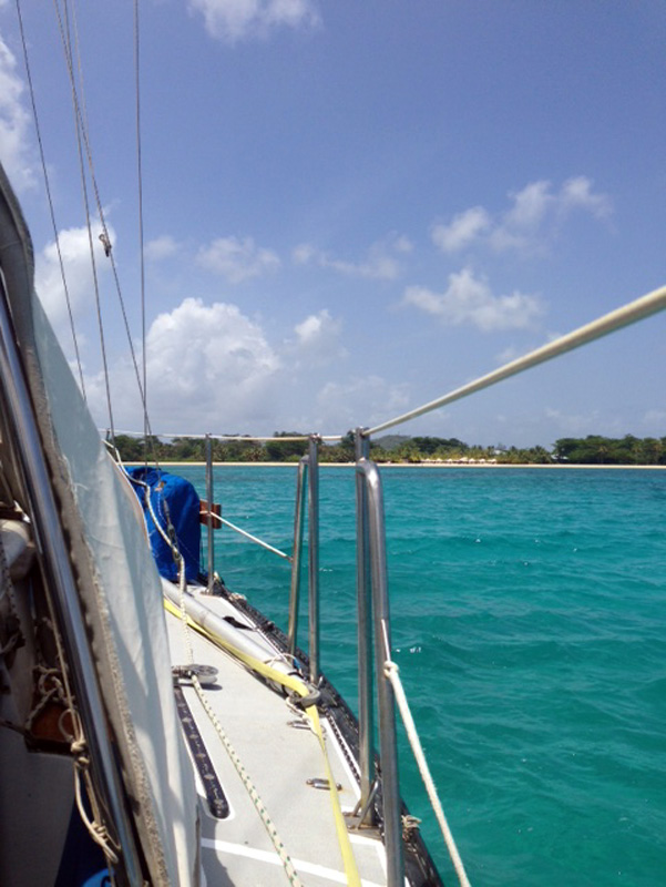 Anchorage in Big Corn Island