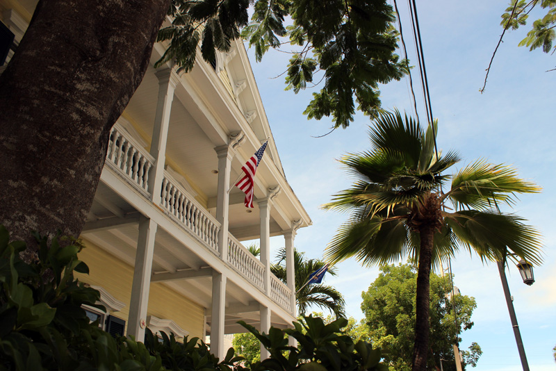 Stars & stripes again and again in Key West