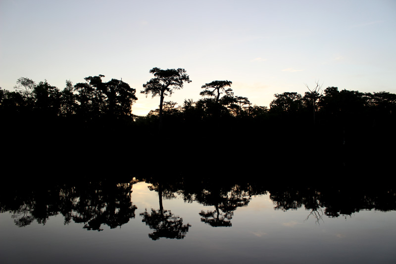 Waccamaw River on the Intracoastal in South Carolina Sunset