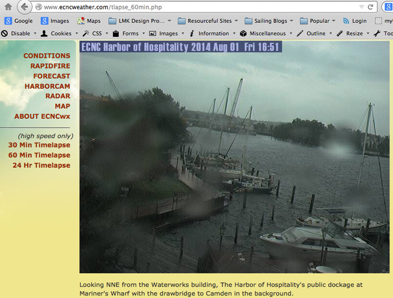 Webcam in Elizabeth City