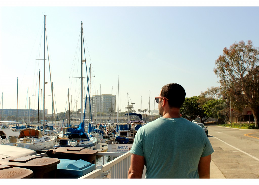 Jon at Marina del Rey