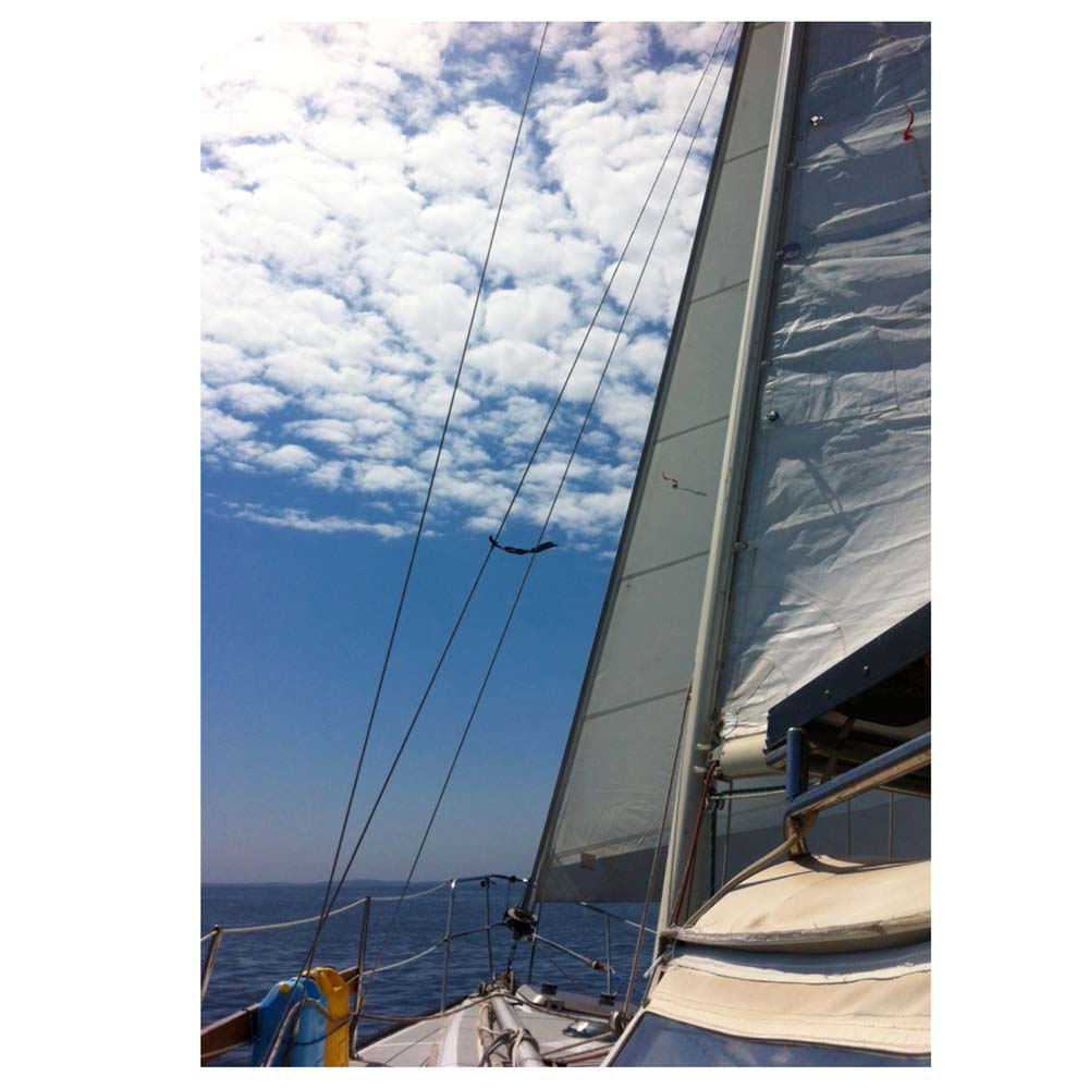 Brio's first sail of the 2015 season in Maine